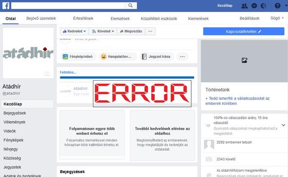 Lidércposztok: eltűnnek a Facebook bejegyzések