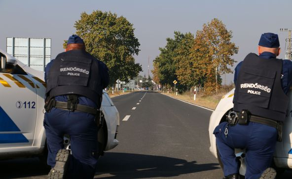 Fegyveres rablót fogtak Berzencénél, Lábodról a gázoló menekült el