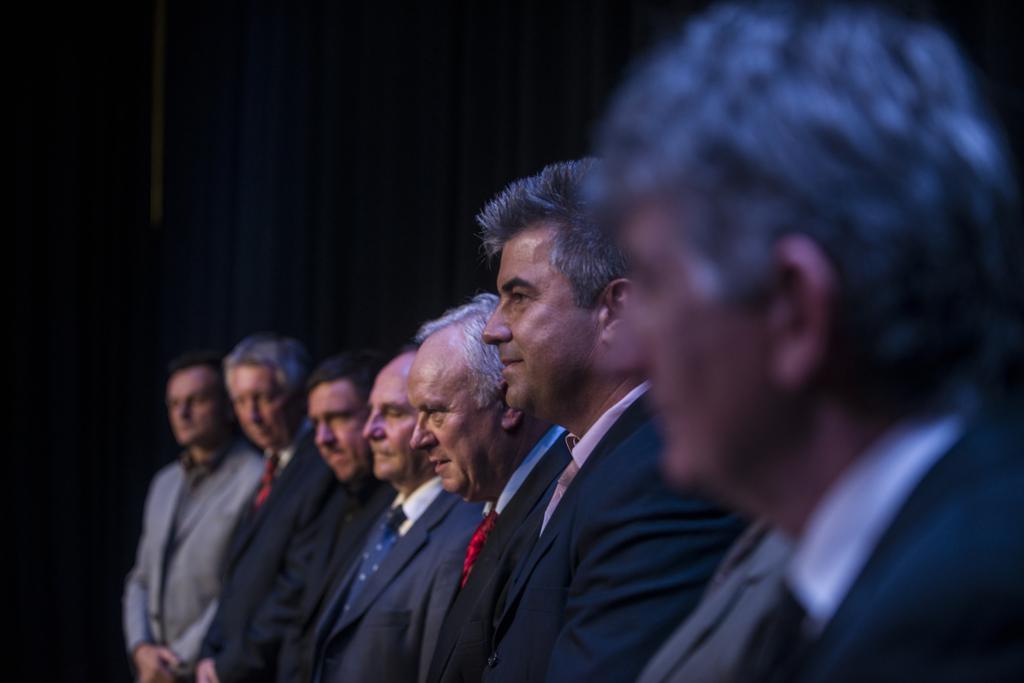 A települések polgármesterei jutalmazták a humán szakembereket és a hiányszakmák tanulóit
