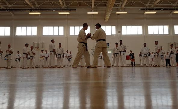 Nyílt karateedzés Nagyatádon
