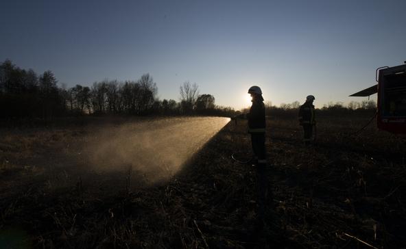 2 hektáron lángolt a tarló