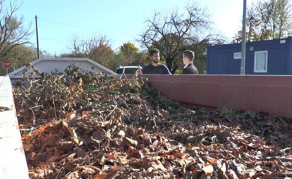 Két hét múlva szállítják a kerti hulladékokat