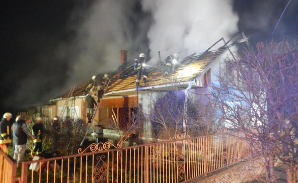 Négy tűzeset, három baleset a hétvégén Somogyban