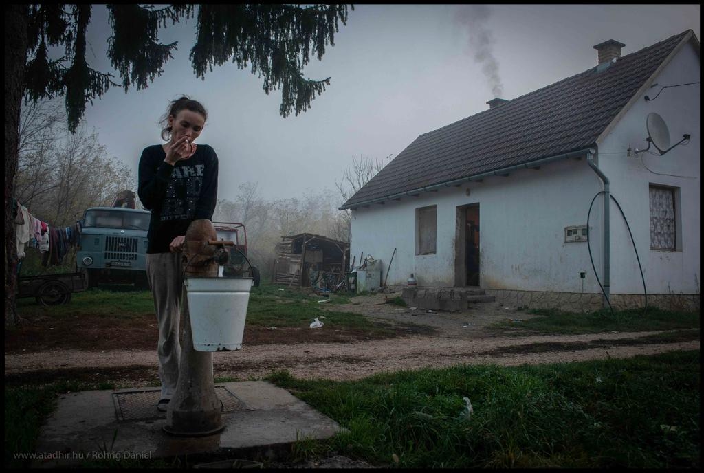 Vezetékes víz nincs a házban