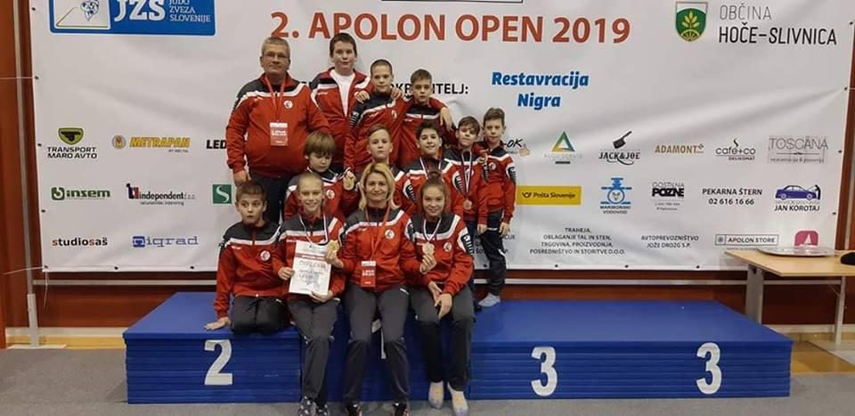2.Nemzetközi Apolon Open versenyen Szlovéniában