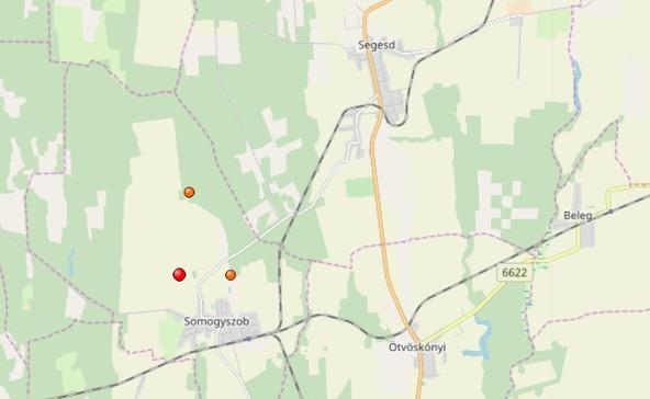 Földrengés Segesden