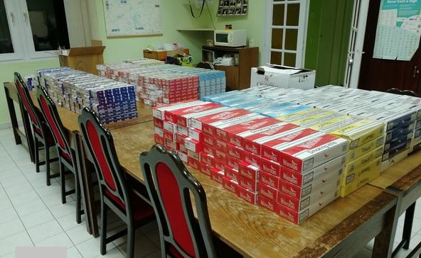 484 karton csempészett cigire bukkant Boo Somogyban