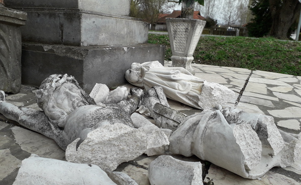A földrengés újabb áldozata: Jézus Krisztus!