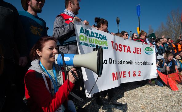 Mentsd meg a Drávát: ökológiai katasztrófa fenyeget!