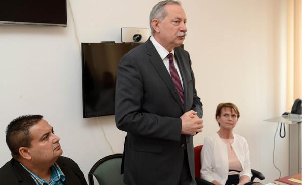 A járási hivatal és a cigány önkormányzat közös értekezlete