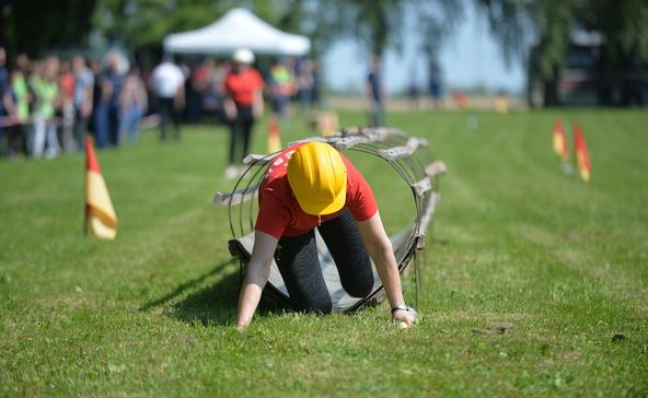 Önkéntes tűzoltók versengtek Bolháson