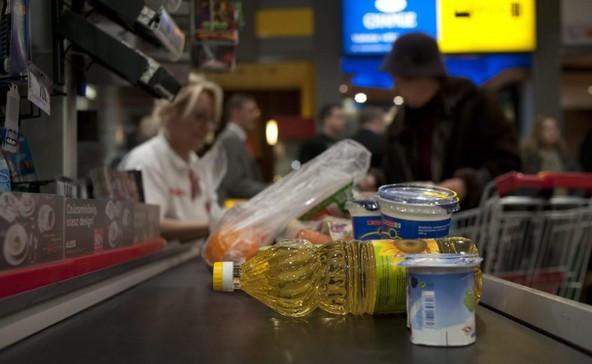 Az élelmiszerek drágultak a legjobban az elmúlt évben