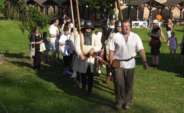 Atádi időutazás a középkorba