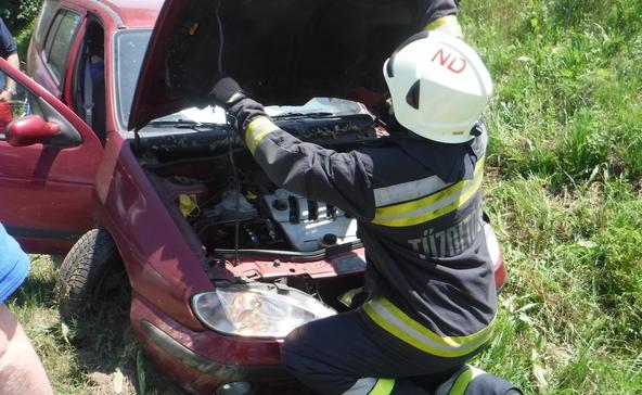 Helyszíni fotók a berzencei úti balesetről