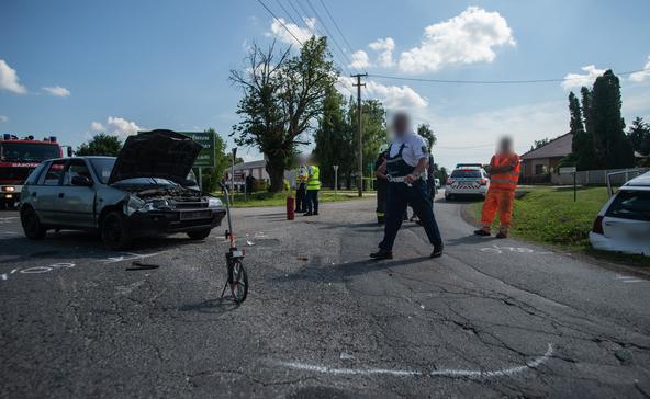 Képek a segesdi balesetről!