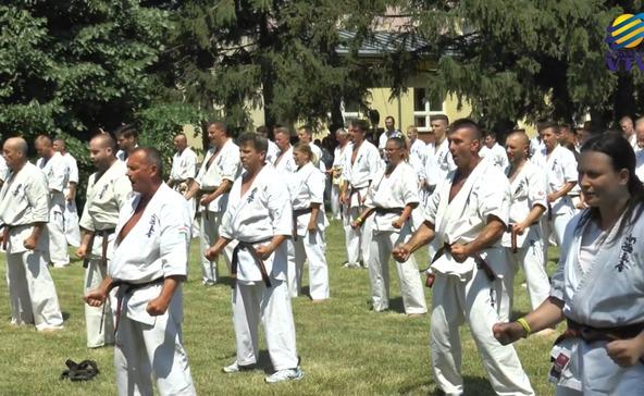 Kyokusin karatetábor Nagyatádon-videóval!