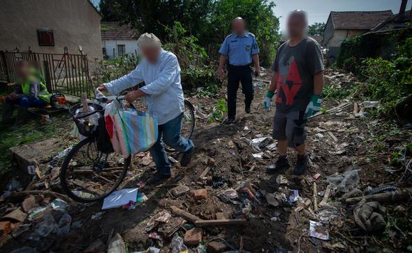 Felszámolják a Petőfi utcai gyűjtögető szeméthegyét