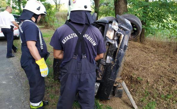 Képek a kutasi balesetről
