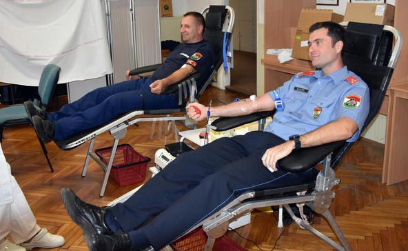 Vérüket adták a somogyi tűzoltók
