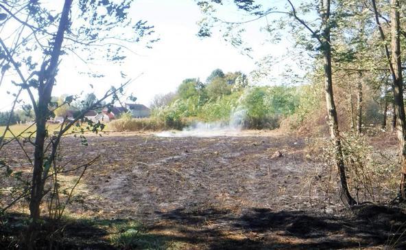 Elszabadultak a lángok Kisbajomban