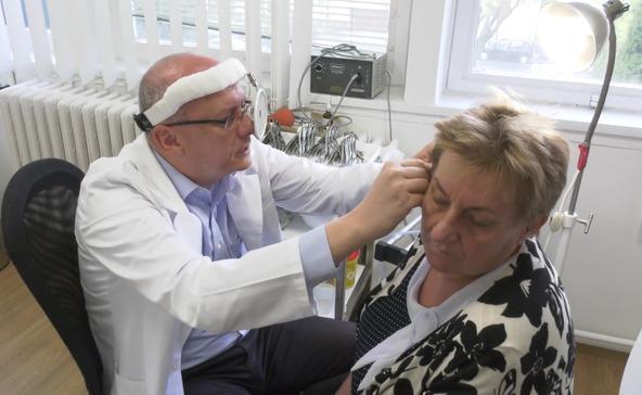 Átadták a felújított fül-orr-gégészeti rendelőt