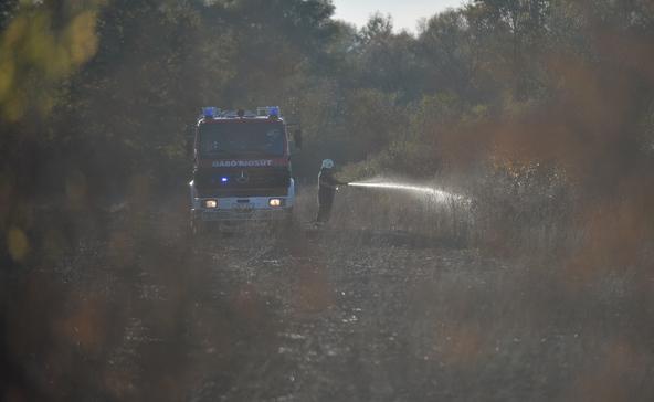 5 hektáron égett le a szántóföld