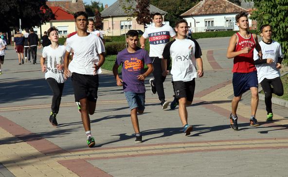 2019 kilométert futottak a nagyatádi szakképző diákjai