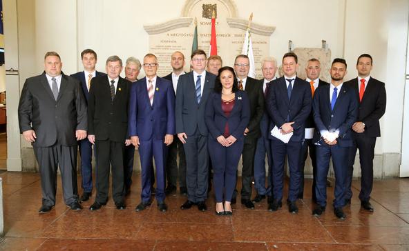 Újraválasztották Biró Norbertet a megyei közgyűlés elnökének