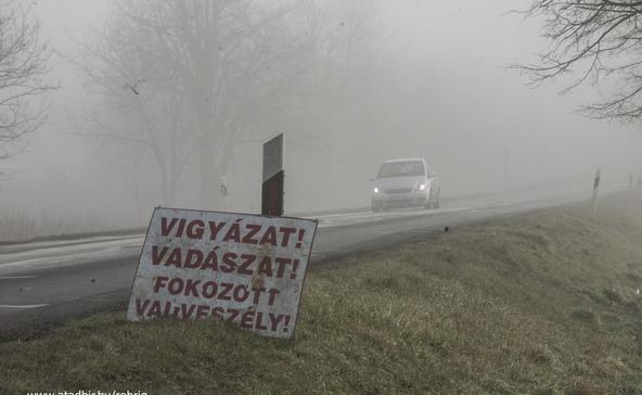 Lábodi út - csak óvatosan!