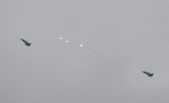 Tüzelő vadászgépek: nem fegyverek voltak