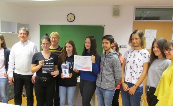 A somogyi diákok környezetvédelmi horrorfilmje nyert