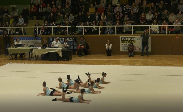 Ritmikus gimnasztika karácsonyi gálaműsora - videóval!
