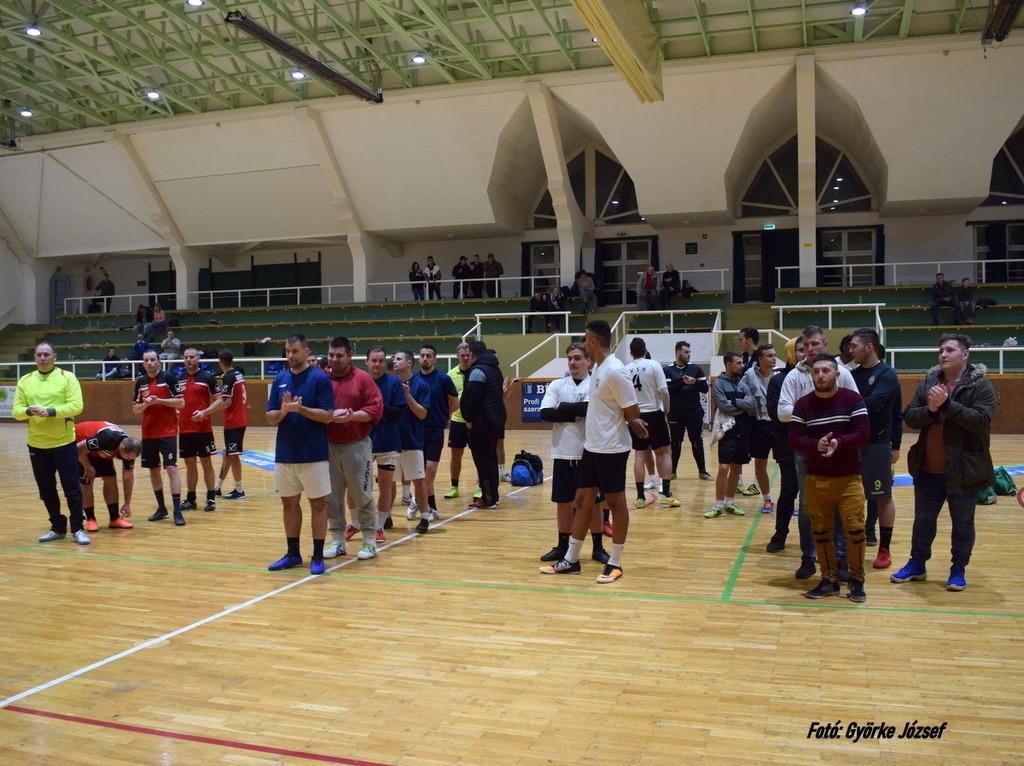 Az első négy helyen végzett csapat: a Kadarkút 2, a Vdó FC, a La Puissance és a Segesd SE