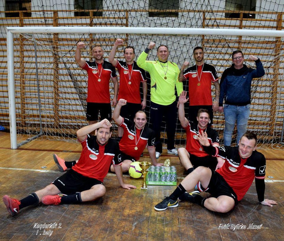 A XX. Vencel Kupa győztes csapata: a Kadarkút 2