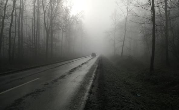 Tejköd és síkos utak Nagyatád környékén!