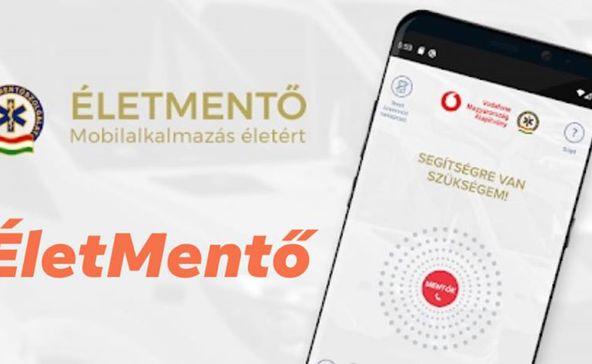 ÉletMentő alkalmazás a mobilra