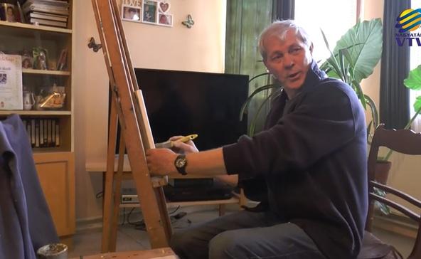 Bakházai amatőr művész festménycsodái