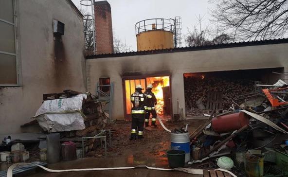 Tűzeset Böhönyén! Fotókkal!