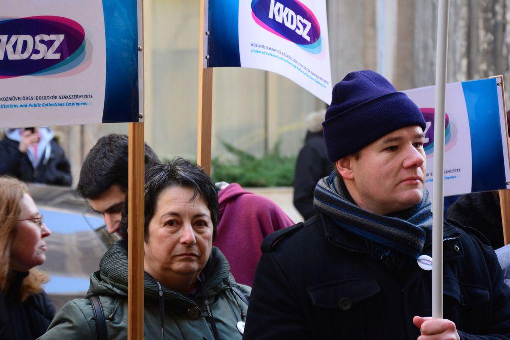 A közművelődésben és a közgyűjteményekben dolgozók is kilátásba helyezték a sztrájkot