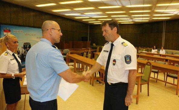 Új rendőrkapitánya van Barcsnak és Marcalinak