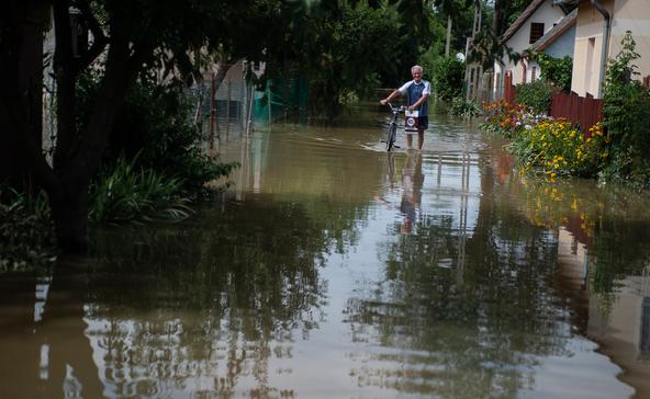 317 millió forintos kárt okozott az árvíz Nagyatádon