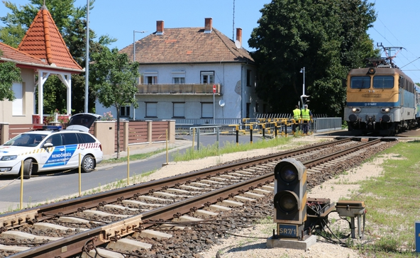Gyalogost gázolt a vonat