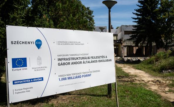Felmondtak a babócsai iskola felújítását végző kivitelezőnek