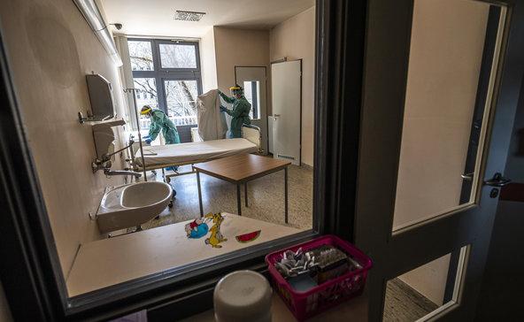 71 ágyat tettek szabaddá a Nagyatádi Kórházban a koronavírusos betegeknek