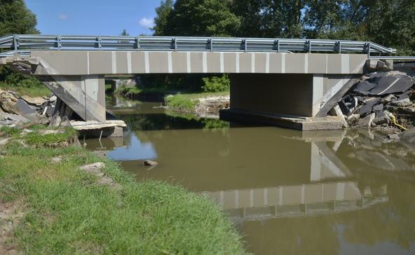 Mintegy 400 millióba kerül a két Rinya-híd helyreállítása