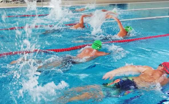 Nagyatádon rendezték a regionális aquatlon döntőjét