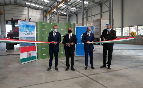 A miniszter is megjelent a somogycsicsói beruházás átadásán