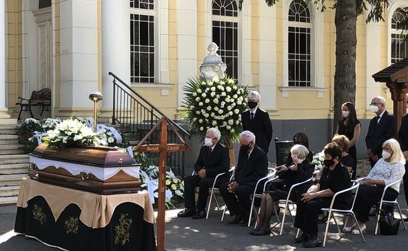 Eltemették Bertók Lászlót