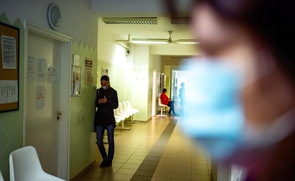 Nagyatád: emelkedik a COVID-gyanús és az influenzás esetek száma is