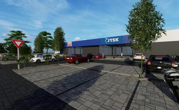 Szerződött a város a Jysk és a KiK áruházat építő céggel